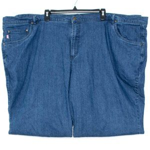 Woman Within Womens Jeans Blue 32 Tall DM